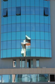 Free Reflections Modern Buildings 3 Royalty Free Stock Photography - 1214157