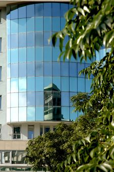 Free Reflections Modern Buildings 2 Royalty Free Stock Images - 1214179