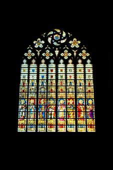 Free Stained Window Royalty Free Stock Photo - 1214265