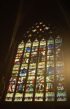 Free Stained Window Royalty Free Stock Photos - 1214298
