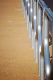 Free Tram Stop Railing Stock Photos - 1214303