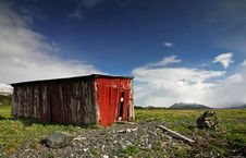 Free Red Shed Royalty Free Stock Photo - 1215115