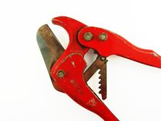 Free Plastic Pipe Cutters Royalty Free Stock Photos - 1215728