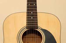 Free Acoustic Guitar Stock Image - 1215751