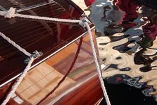 Boat Reflections 2 Royalty Free Stock Photo