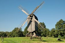Free Old Windmill Stock Image - 1216241