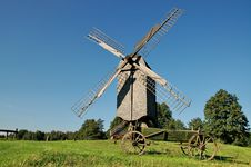 Free Old Windmill 2 Stock Images - 1216274