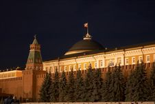 Red Square In The Evening. Moscow, Russia.