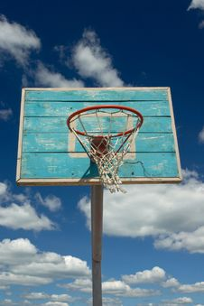 Free Basketball Hoop Stock Image - 1216611