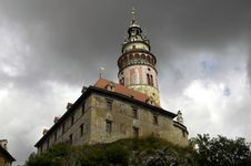 Free Czech Krumlov Architecture Royalty Free Stock Photo - 1216735