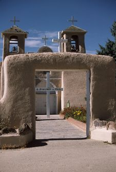 Free Entrance, Church Of San Francisco De Asis Stock Photos - 1217363