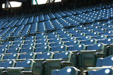 Free Numbered Stadium Seats Royalty Free Stock Photos - 1217848