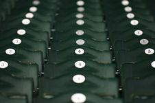 Free Numbered Stadium Seats Royalty Free Stock Images - 1217849