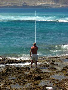 Free Fisherman Royalty Free Stock Images - 1219199