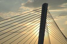 Bridge Detail 34 Stock Photo
