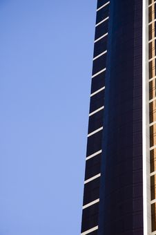 Abstract Highrise Sky Royalty Free Stock Photo