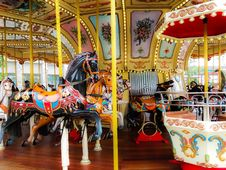 Free Amusement Ride, Carousel, Amusement Park, Recreation Royalty Free Stock Photos - 121057918