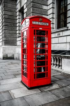 Free Telephone Booth, Red, Payphone, Telephony Stock Photos - 121057923