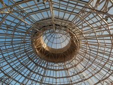 Free Structure, Dome, Daylighting, Roof Royalty Free Stock Photography - 121057927