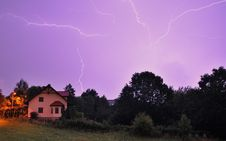 Free Sky, Lightning, Thunder, Atmosphere Royalty Free Stock Photo - 121058315