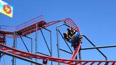 Free Amusement Ride, Amusement Park, Roller Coaster, Tourist Attraction Royalty Free Stock Photography - 121058317