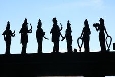 Free Silhouette, Statue, Monument, Shadow Royalty Free Stock Images - 121555969