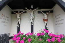 Free Flower, Religious Item, Flora, Crucifix Royalty Free Stock Images - 121556239