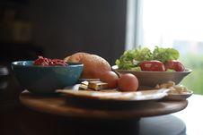 Free Food, Tableware, Dish, Brunch Stock Image - 121556541