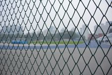 Free Wire Fencing, Chain Link Fencing, Structure, Net Stock Photos - 121556643