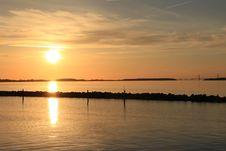 Free Sky, Horizon, Sunset, Reflection Royalty Free Stock Image - 121556936