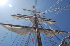 Free Sailing Ship, Tall Ship, Ship, Brigantine Royalty Free Stock Photos - 121557028
