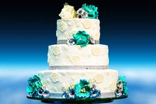 Free Wedding Cake, Sugar Cake, Wedding Ceremony Supply, Cake Decorating Stock Photos - 121557153
