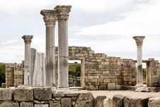 Free Historic Site, Ruins, Ancient Roman Architecture, Archaeological Site Stock Photography - 121663052