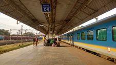 Free Train Station, Transport, Train, Track Stock Image - 121707391