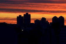 Free Skyline, Sky, City, Sunrise Royalty Free Stock Photography - 121707517
