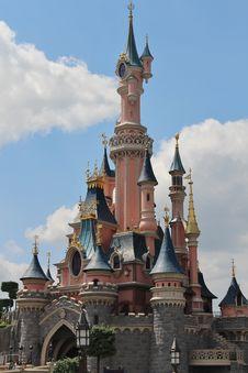 Free Spire, Walt Disney World, Château, Steeple Royalty Free Stock Photos - 121707558