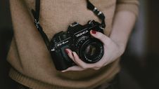 Free Camera, Single Lens Reflex Camera, Cameras & Optics, Digital Camera Stock Photo - 121708100
