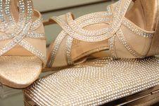 Free Footwear, Shoe, Sandal, Beige Stock Image - 121708121