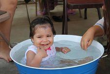 Free Child, Bathing, Water, Bathtub Royalty Free Stock Photo - 121708385