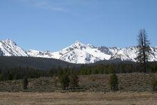 Free Sawtooth Mountain Range In Idaho Royalty Free Stock Photo - 12190495