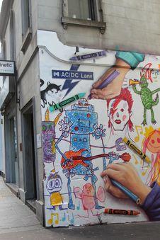 Free Art, Street Art, Wall, Road Royalty Free Stock Photos - 121933718