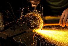 Free Welder, Metalsmith, Flame, Darkness Stock Image - 121934031