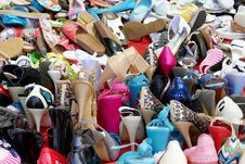 Free Footwear, Public Space, Shoe, Shoe Store Royalty Free Stock Photos - 121934538