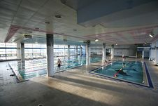 Free Leisure Centre, Sport Venue, Structure, Leisure Royalty Free Stock Images - 121934639