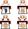 Free Emoticons Style Royalty Free Stock Images - 1223499