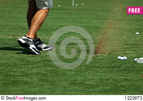 Free Playing Golf Stock Photos - 1223973