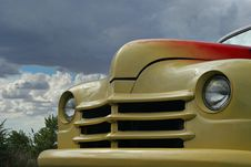 Classic Yellow Car Stock Images