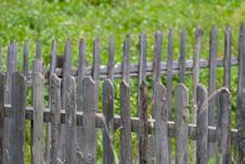 Free Fence Detail Stock Photography - 1221992