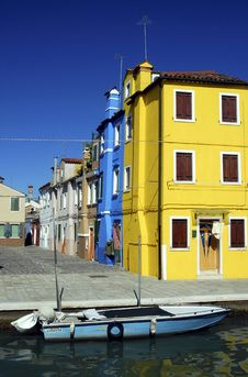 Free Burano Series Royalty Free Stock Photography - 1222817