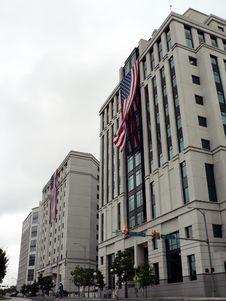 Free Us Flag - 9-11 Memorial Tribute Stock Photos - 1223033